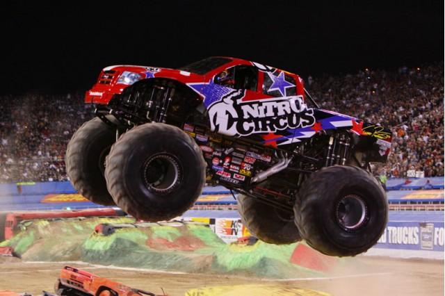 Nitro Circus monster truck. Photo courtesy of Monster Jam.