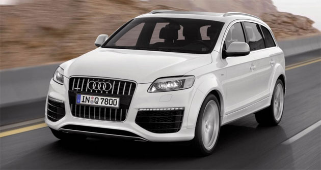 Diesel-lovers will only be able to get Audi's Q7 SUV in 3.0L TDI form in the U.S.