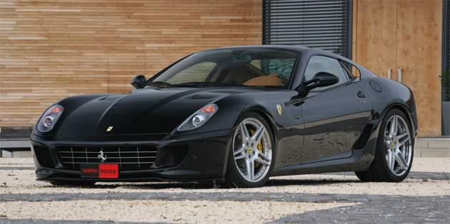 Novitec Rosso's twin-supercharger system lifts output of the 599 to 808hp (594kW) and 607lb-ft (823Nm) of torque