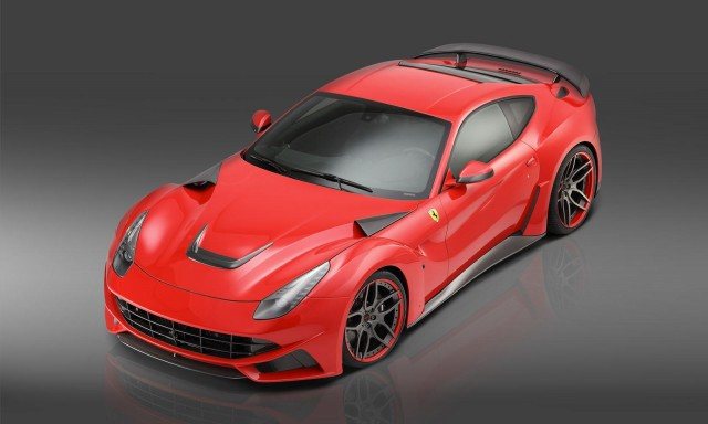 Novitec Rosso's wide-body Ferrari F12 Berlinetta