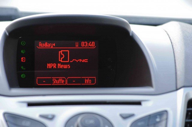 NPR News App with Ford Sync AppLink - 2012 CES