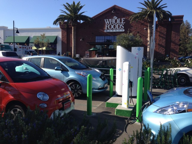 NRG eVgo Freedom Station at Whole Foods Market, Fremont, California