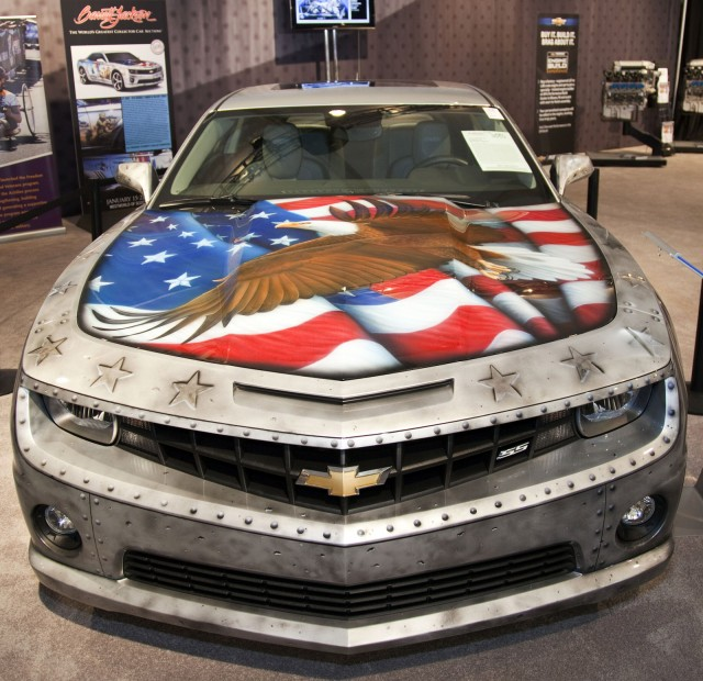 One-off military-inspired Camaro sold for $175,000