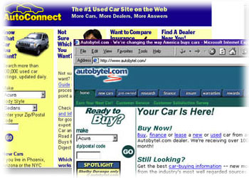online car selling sites screen shot