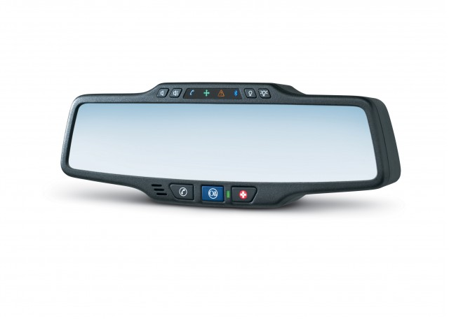 OnStar retail mirror