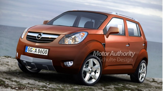 Preview 2010 opel mini suv for South motors bmw mini