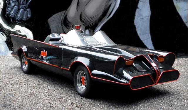 Original Batmobile replica