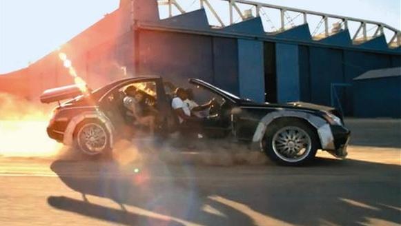 Range Rover Los Angeles >> Jay-Z/Kanye Wrecked 'Otis' Maybach Brings Just $60,000 At ...
