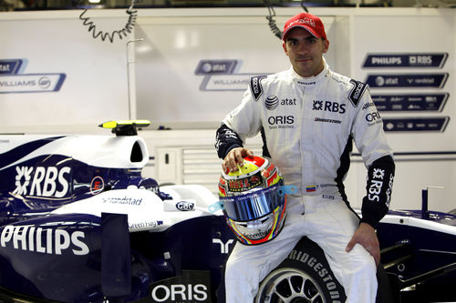 Pastor Maldonado joins Williams F1 for the 2011 season
