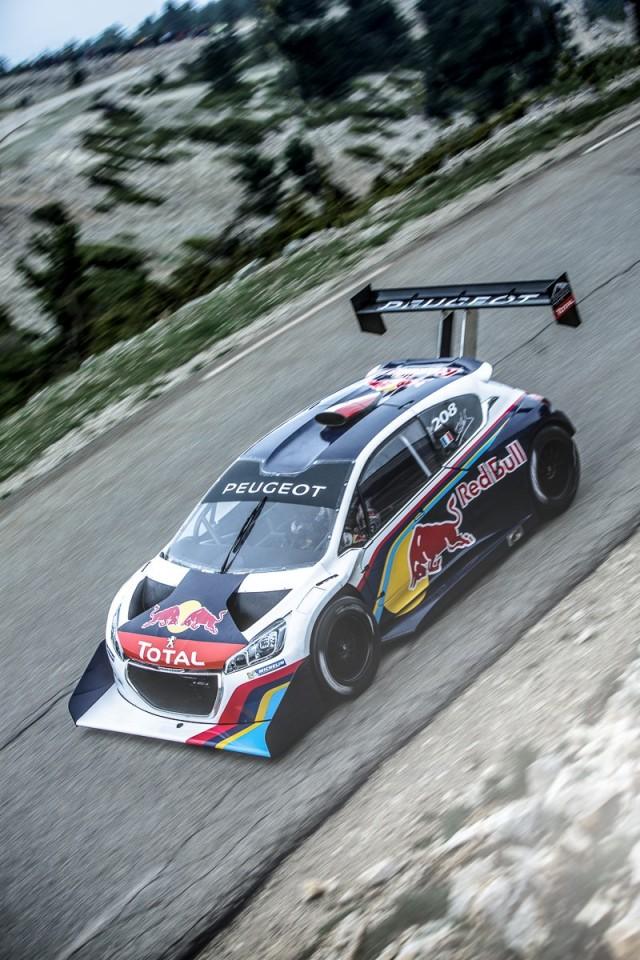 Peugeot 208 T16 Pikes Peak race car