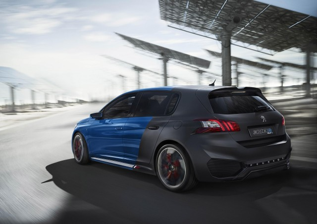 peugeot 308 gti tipped to make 2015 goodwood festival of speed debut. Black Bedroom Furniture Sets. Home Design Ideas