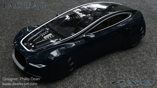 Phillip Dean's Jaguar C-XC concept