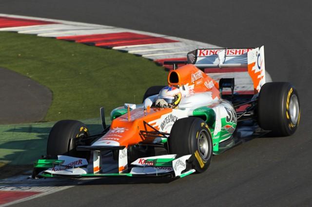 Photo courtesy Sahara Force India Formula 1