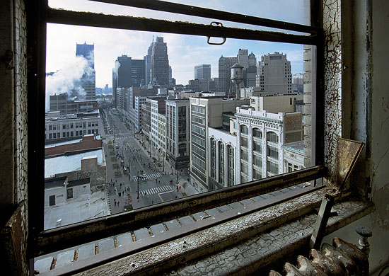 Photo of Detroit by Yves Marchand and Romaine Meffre