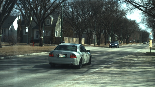 Photo ticket captured driver Danial Mercer speeding just past a school zone