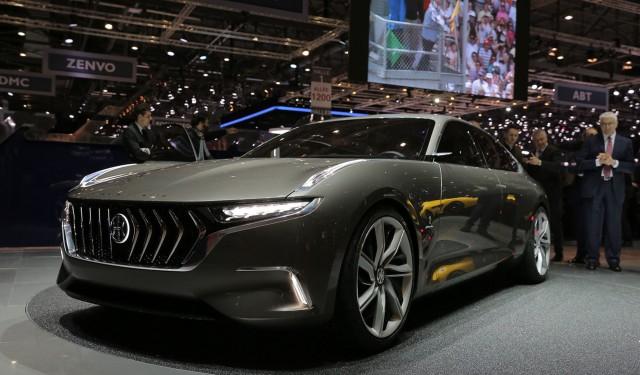 Pininfarina H600 concept, 2017 Geneva auto show