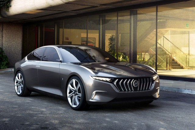 hybrid kinetic electric luxury car with turbine range extender to be built in china