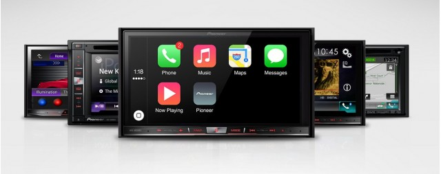 Pioneer's aftermarket options for Apple's CarPlay