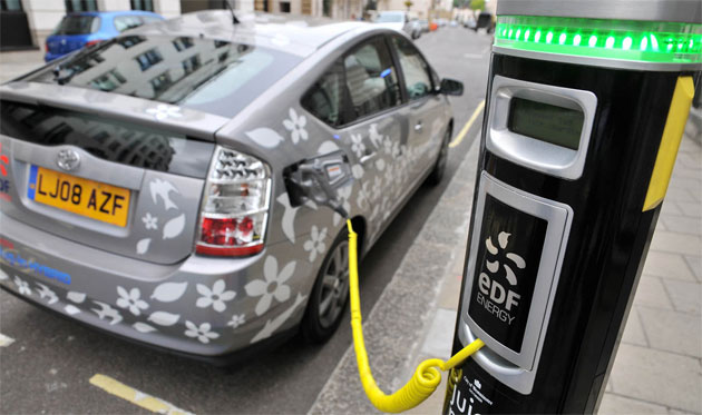 Plug-in hybrid Toyota Prius