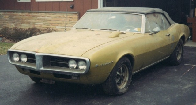 The 1967 Pontiac Firebird... before
