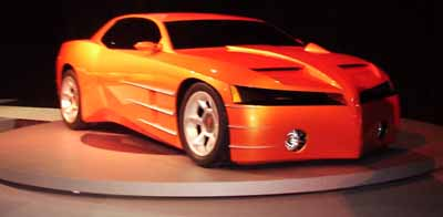 Pontiac_GTO, 1999 Detroit Auto Show