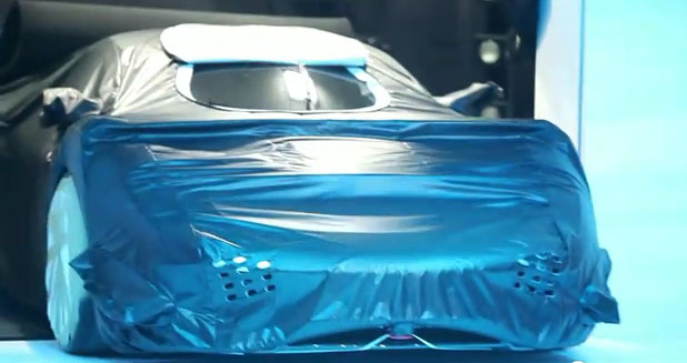 Porsche 918 race concept teaser
