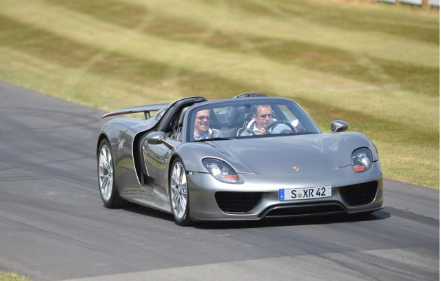 Porsche 918 Spyder at the 2013 Goodwood Festival of Speed