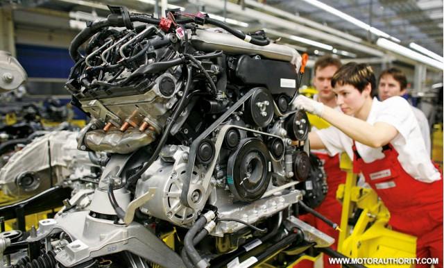 porsche cayenne diesel assembly 001