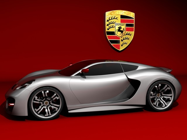 Porsche concept by Emil Baddal
