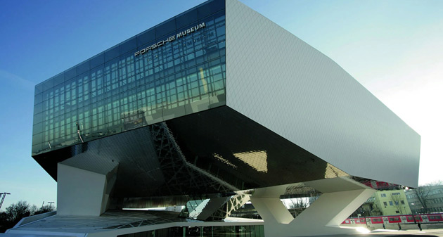 The new Porsche Museum contains more than 80 cars dating back to the beginning of last century