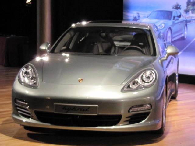 2012 Porsche Panamera S Hybrid launch, New York Auto Show, April 2011