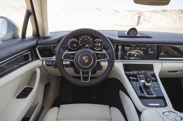 2018 Porsche Panamera 4 E Hybrid First Drive Review Split