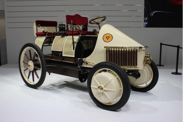1900 Porsche Semper Vivus recreation live photos