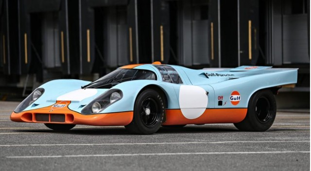 """Porsche 917 from """"Le Mans"""" film heading to auction"""