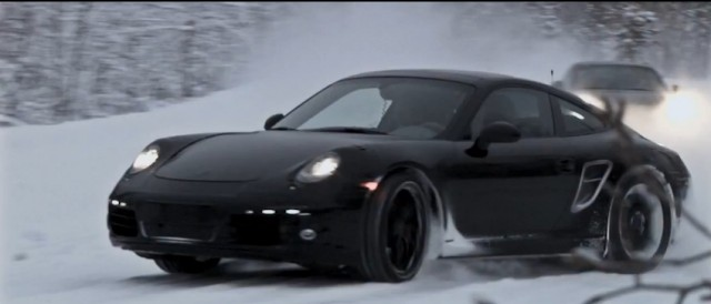 Porsche's new 911 Carrera undergoes winter testing at the Arctic Circle
