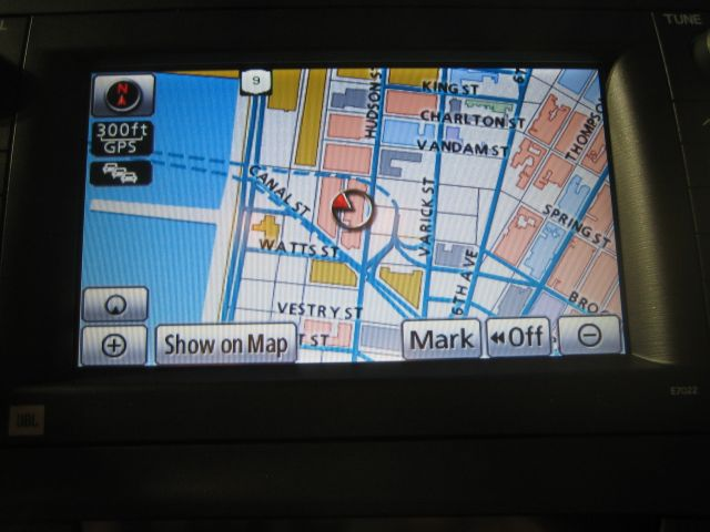 In case you're wondering, the Prius navigation system showed exactly where the reception was held.