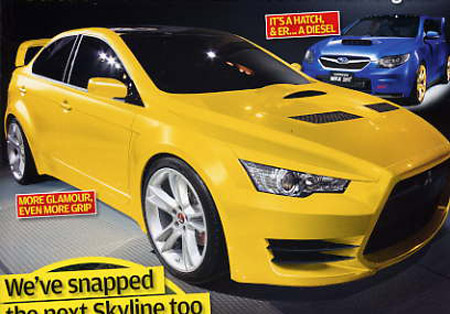 Production ready EVO X revealed