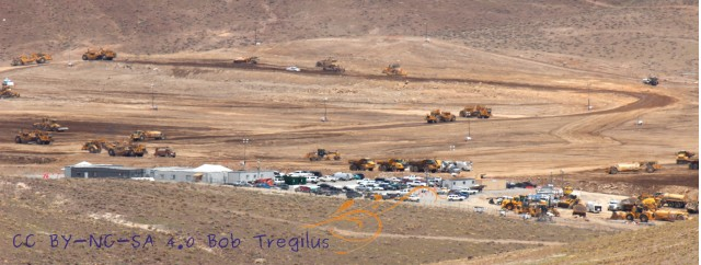 Project Tiger site at USA Parkway Business Park, Reno--for Tesla gigafactory? [photo: Bob Tregilus]