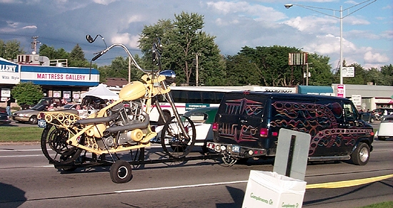 psycho van and motorsycle