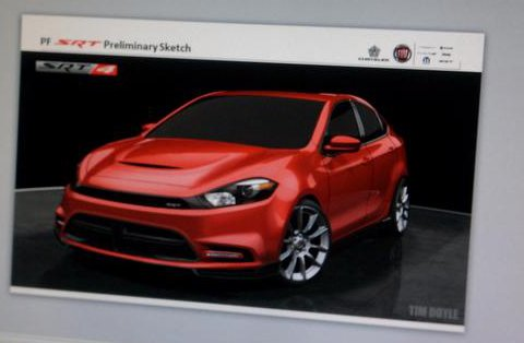 Purported Dodge Dart SRT4 image, via OntarioStreetCar.com