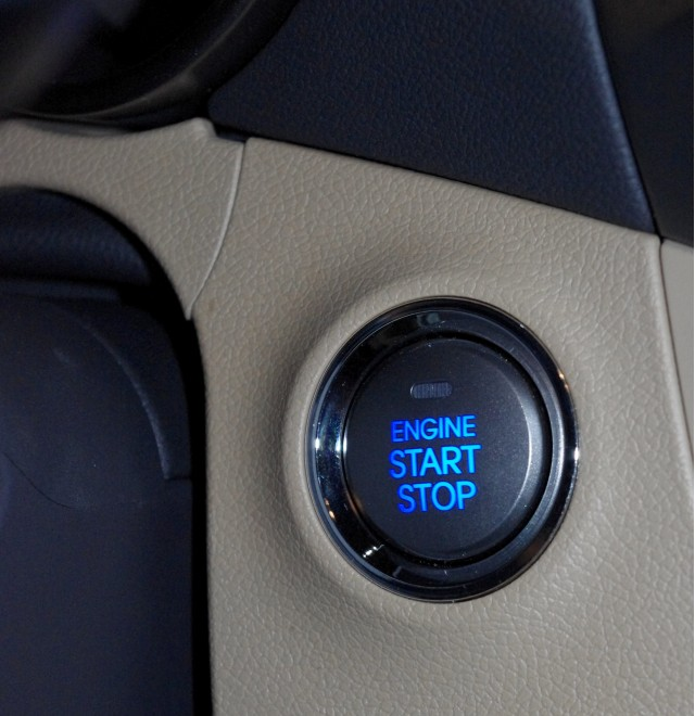 Pushbutton start, panel alignment gaff