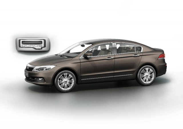Qoros GQ3 sedan launches at the 2013 Geneva Motor Show