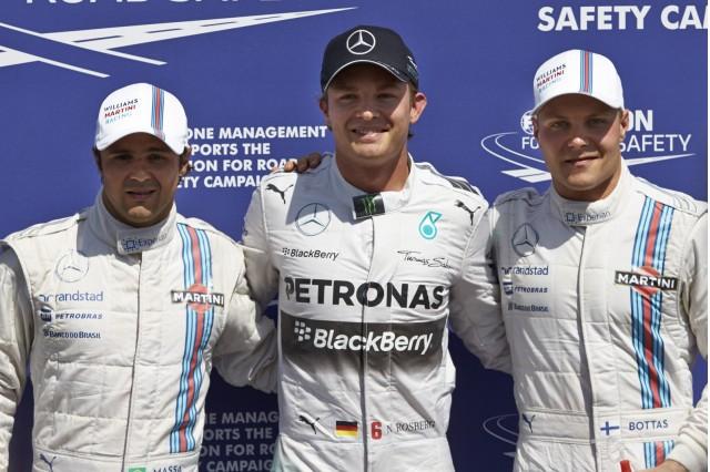 Qualifying at the 2014 Formula One German Grand Prix