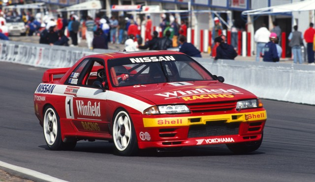R32 Nissan Skyline GT-R race car from 1991