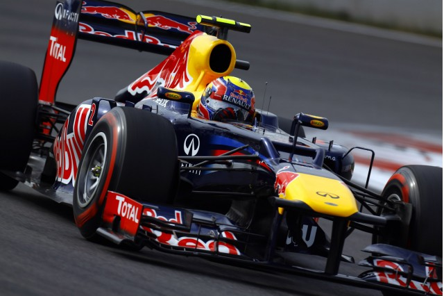 Red Bull Racing at the 2012 Formula 1 Indian Grand Prix
