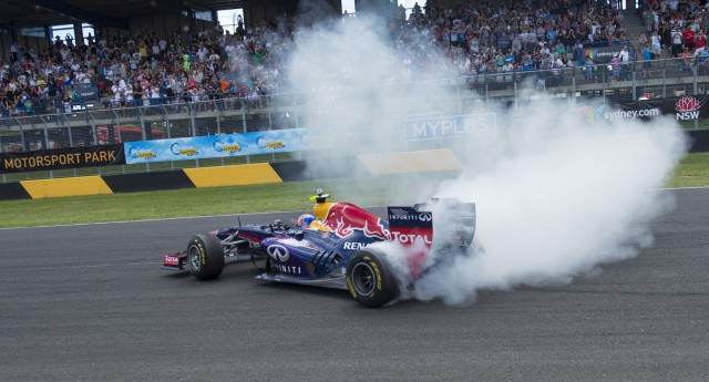 Red Bull Racing at the 2013 Formula 1 Australian Grand Prix
