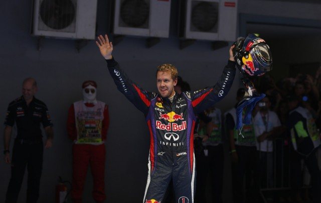 Red Bull Racing's Sebastian Vettel named 2013 Formula One world champion after winning Indian GP