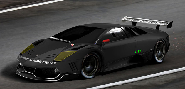 Reiter's Lamborghini Murcielago fits the FIA rules for 2010.