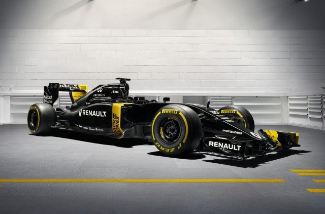 Renault Sport F1 RS16 2016 Formula One car