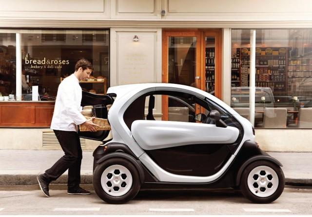 Renault Twizy Cargo electric van